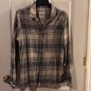 American Eagle Slim fit Flannel shirt
